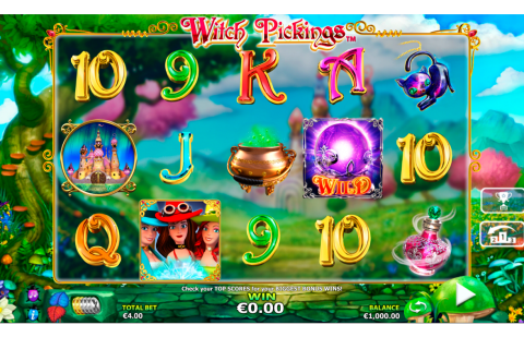 witch pickings netgen gaming slot