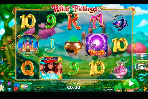 witch pickings netgen gaming slot
