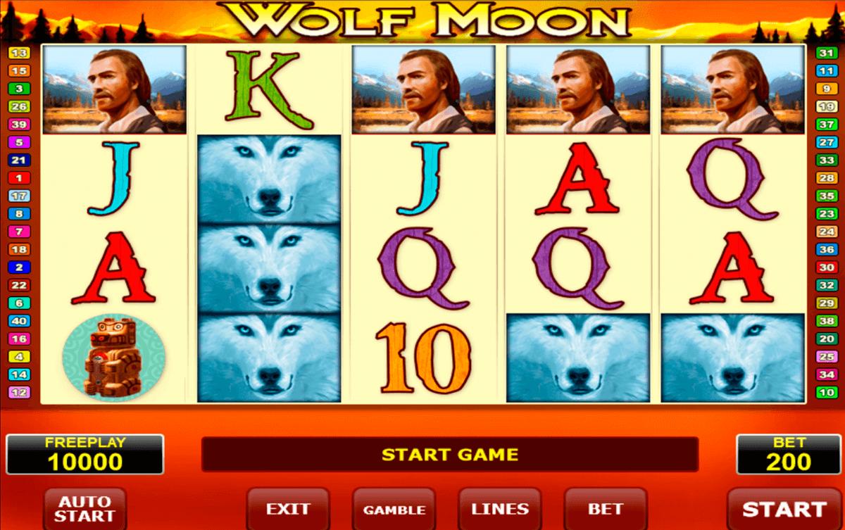 wolf moon amatic slot