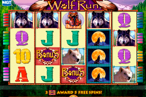 wolf run igt slot