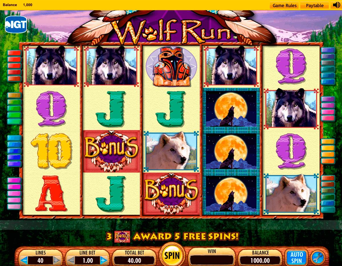Free Slots Wolf Run Free Play