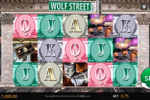 wolf street saucify slot