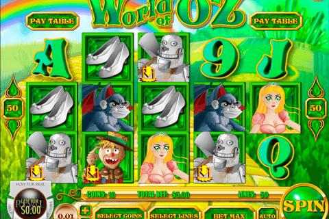 world of oz rival slot